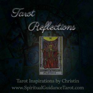 Tarot Reflections Justice Tarot Card